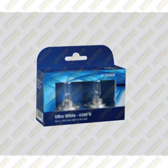 lempu i halogen kompl h7 12 55 30 ultra white 4200k. Black Bedroom Furniture Sets. Home Design Ideas